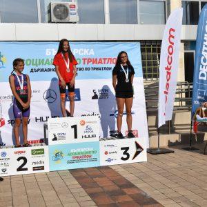 Десислава Лазарова за втори път държавен шампион